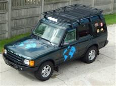 Expediční zahrádka Land Rover Discovery I