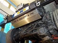 Ocelový kryt tyče řízení Jeep Wrangler TJ
