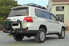 Zadní hliníkový nárazník Starworks Toyota LC 200 08-
