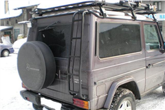 Expediční zahrádka Mercedes G 1500x2150mm design 2