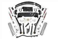 Podvozek Long Arm Rough Country Lift Kit Jeep Cherokee XJ 6,5""