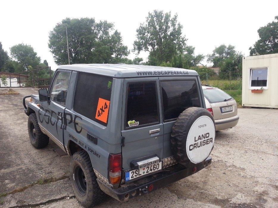 LC70 escape4x4.cz