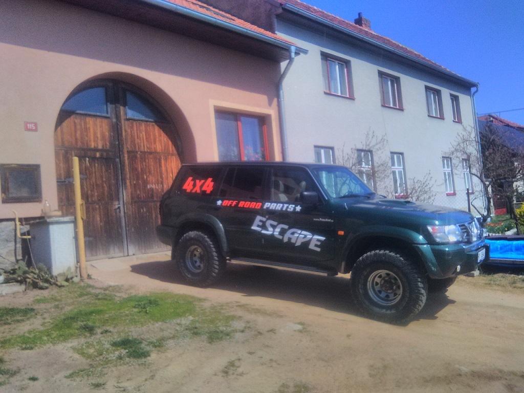 nissan patrol LWB escape4x4.de