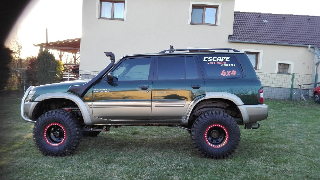 Nissan patrol Y61 Escape4x4.at