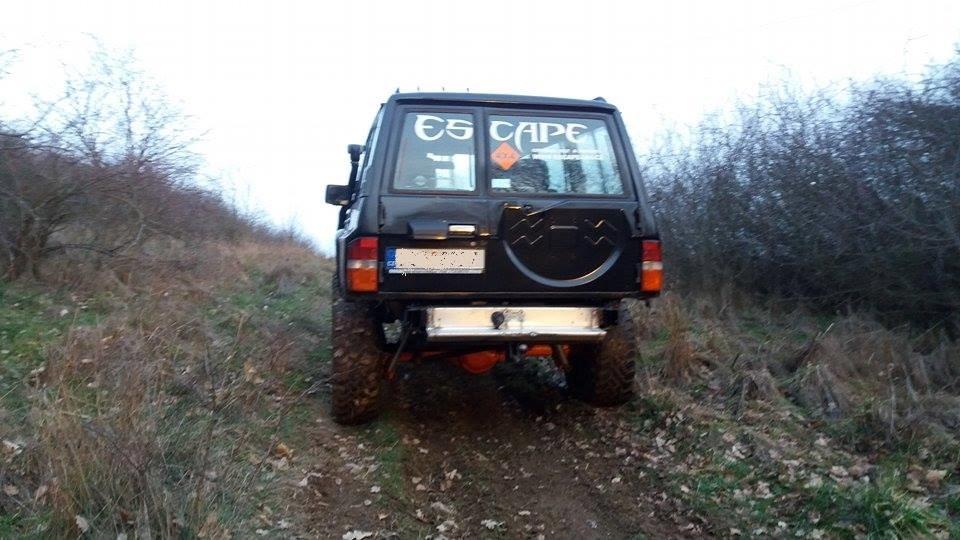 Patrol Y60 escape4x4.cz