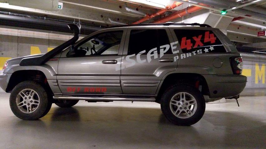 Jeep Grand Cherokee WJ Escape4x4.sk