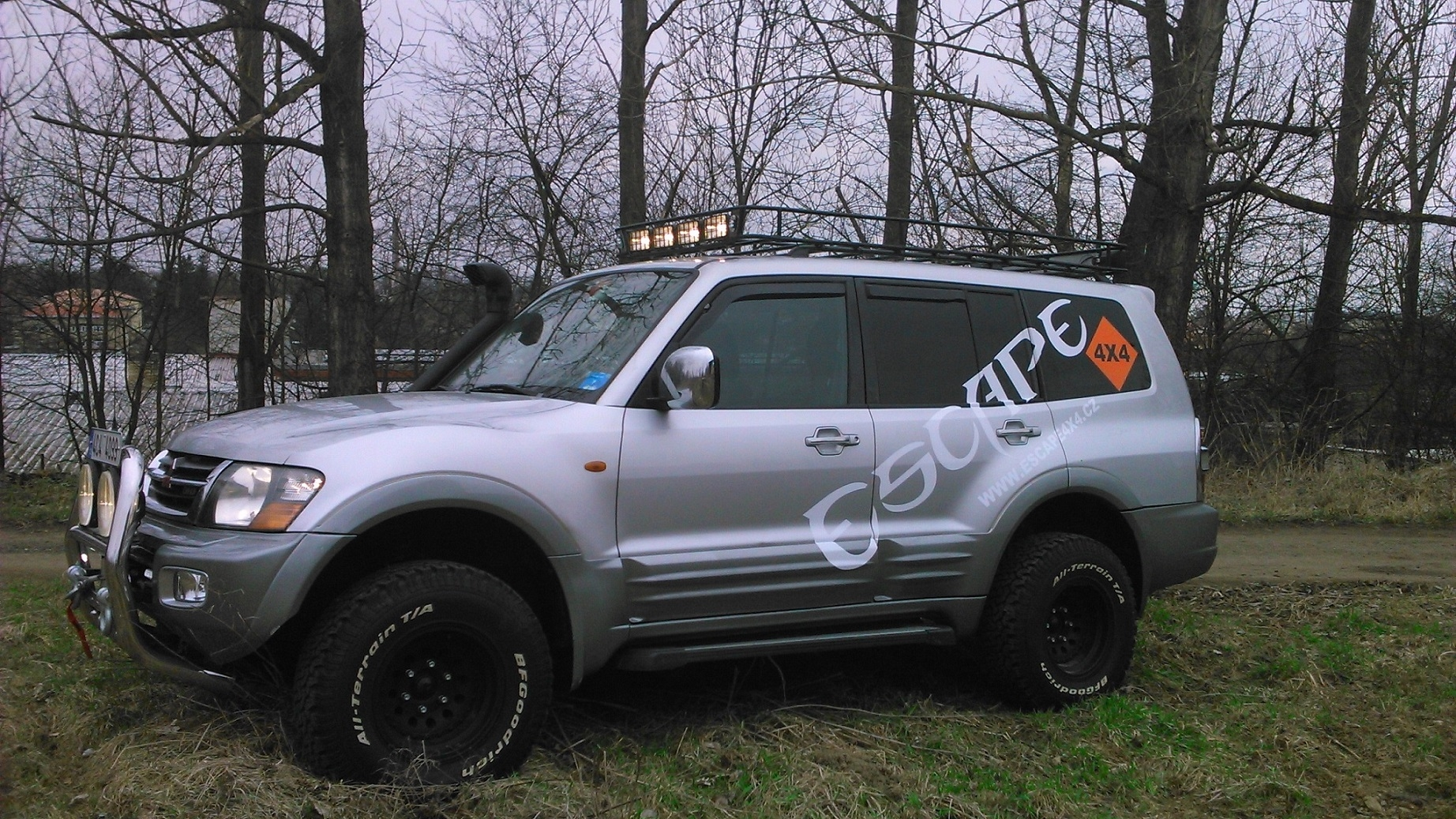 Pajero Off road escape4x4.,cz
