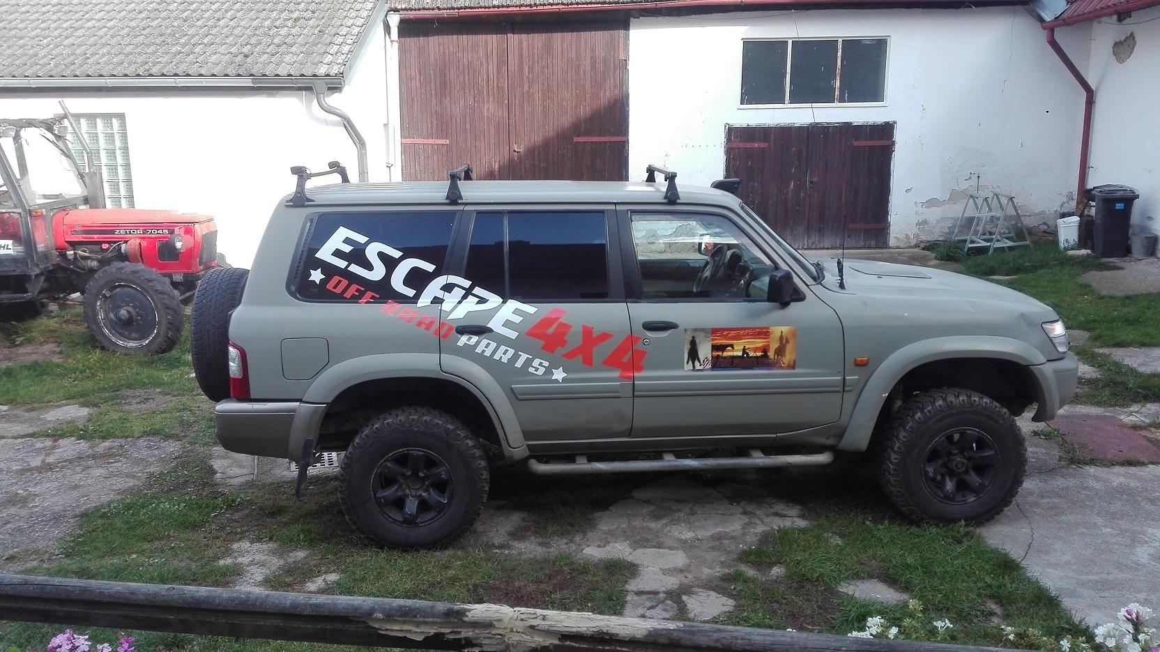 Patrol Y61 Escape4x4.cz
