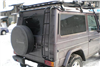 Expediční zahrádka Mercedes G 1500x2450mm design 2